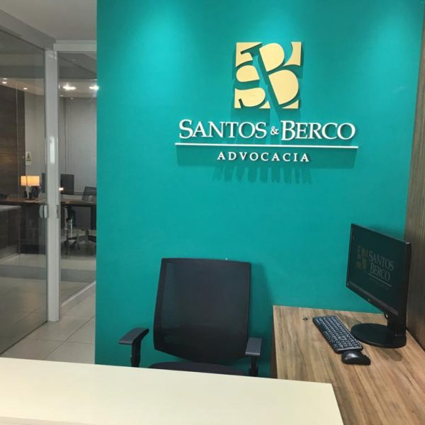 Foto entrada escritório de advogados Santos Berco Advocacia